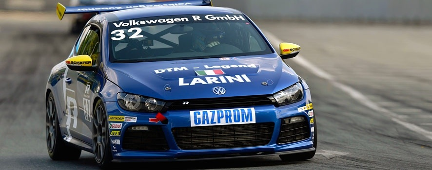 Free practice at the Norisring: Legend Larini clocks fastest time.