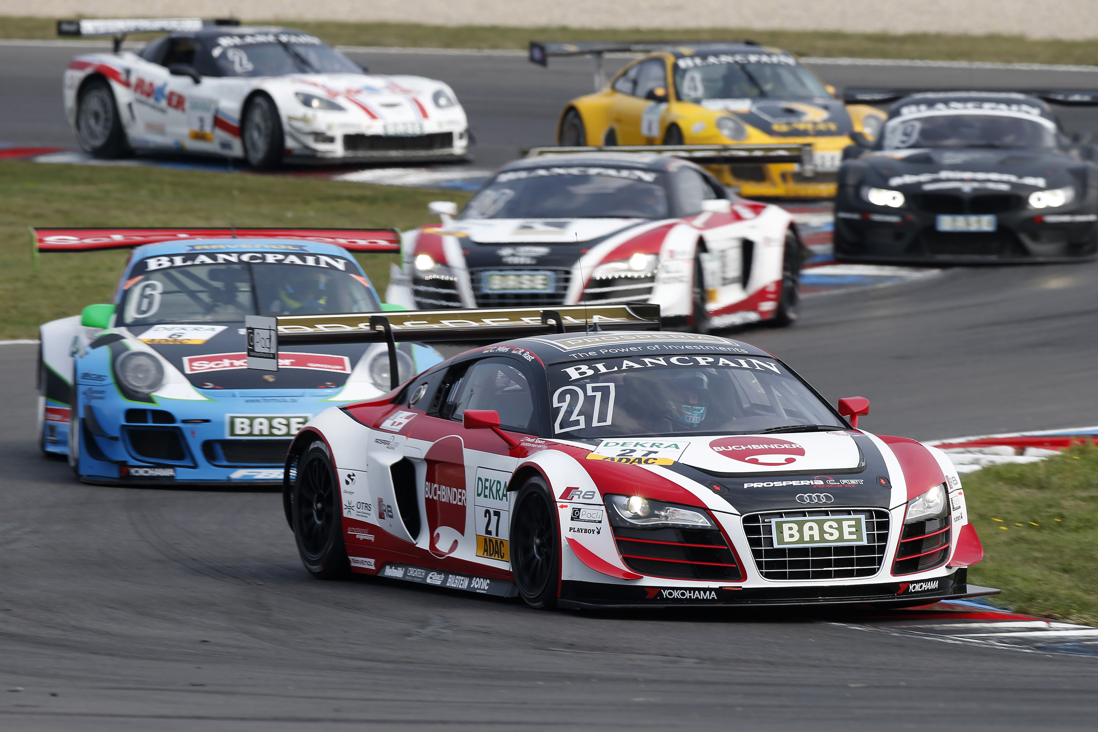 Motorsports / ADAC GT Masters Lausitzring